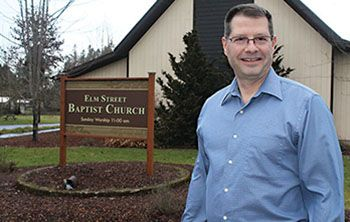 New pastor welcomed to Elm Street Baptist following Army career